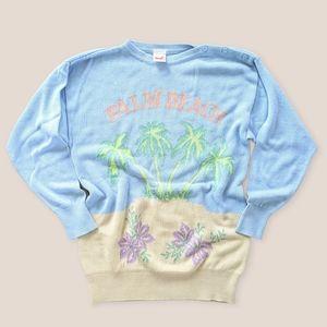 Vintage Mondi Palm Beach sweater